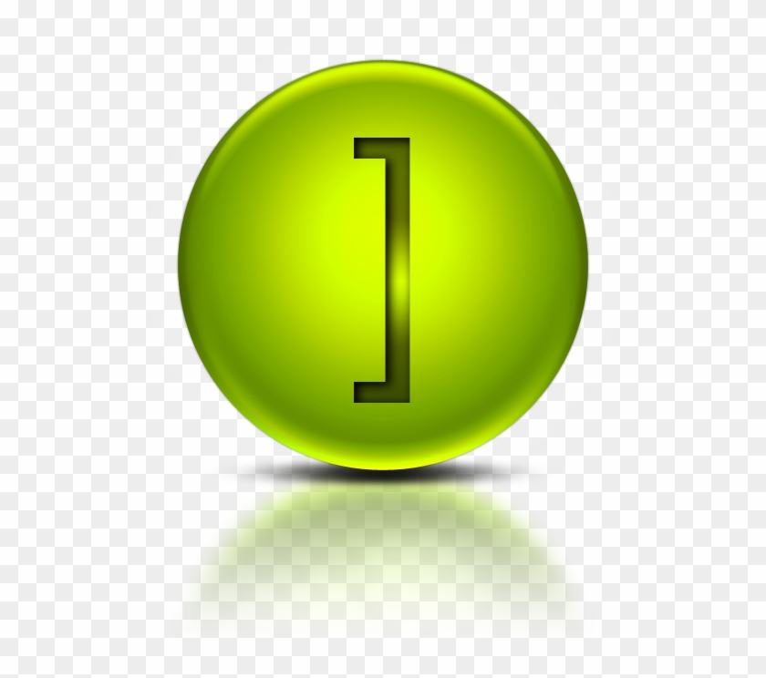071847 Green Metallic Orb Icon Alphanumeric Bracket - Icon For Letter J #737097