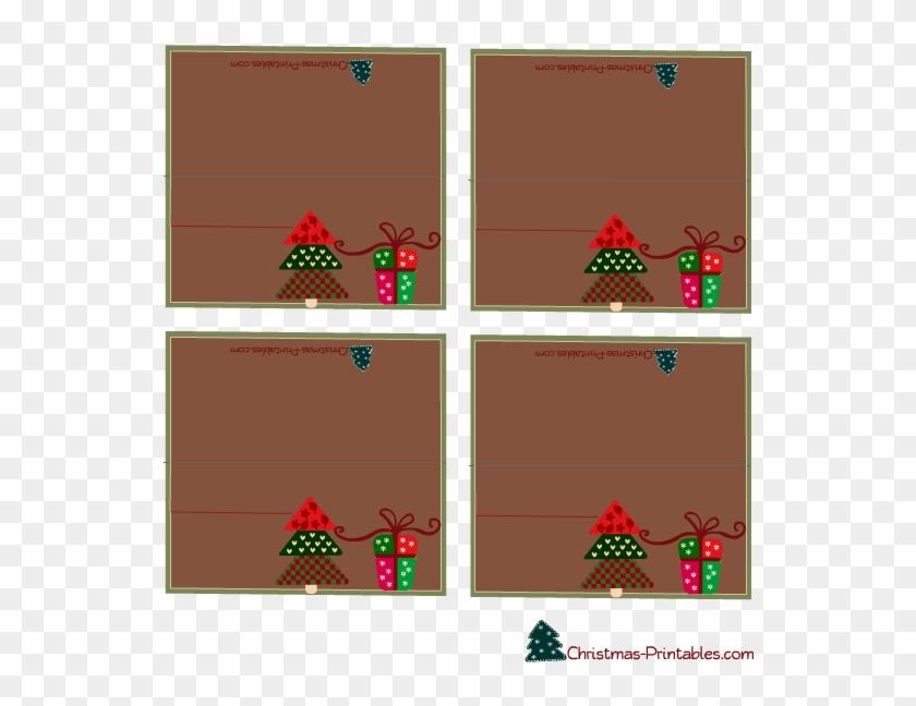 Printable Christmas Place Cards - Christmas Name For Table Printable ...