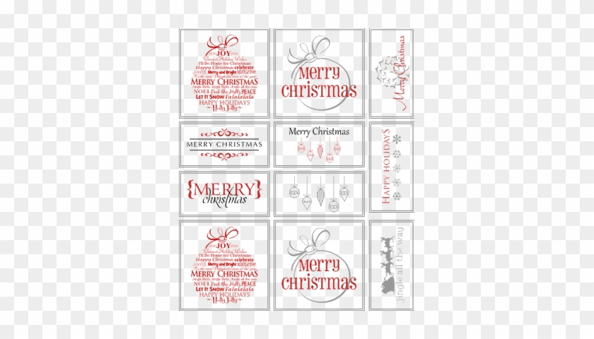 It's just a photo of Printable Christmas Place Cards pertaining to white