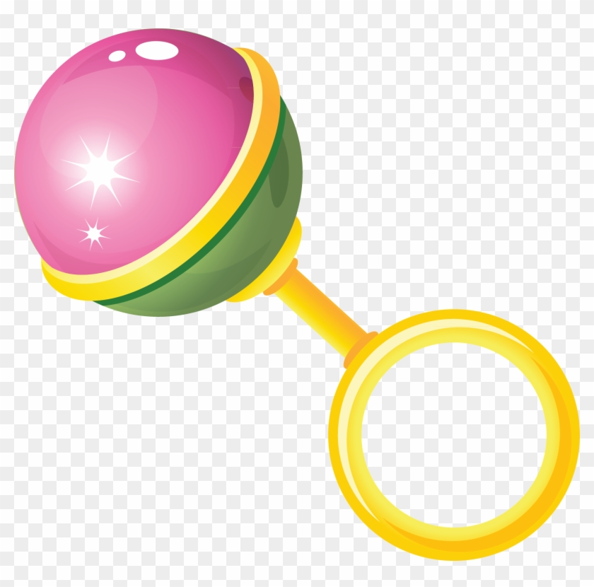 Toy Baby Rattle Clip Art Transparent Baby Toys Free Transparent