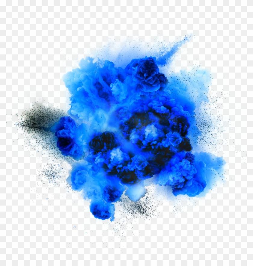 Dust Explosion Blue Download - Blue Explosion Transparent Background #737964