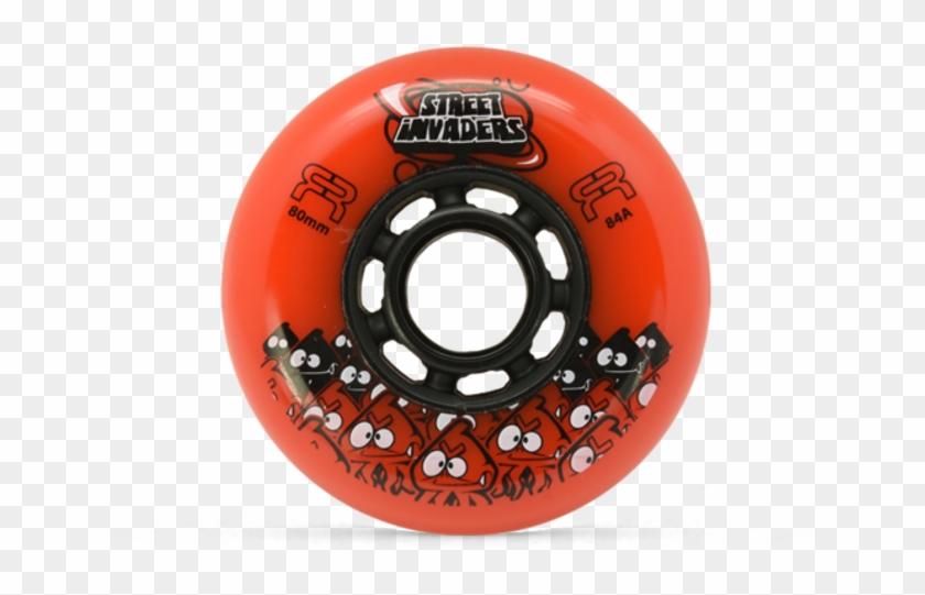 Seba Street Invaders Ii Orange 84a - Seba Skates Seba Street Invaders Blau 84mm #738011