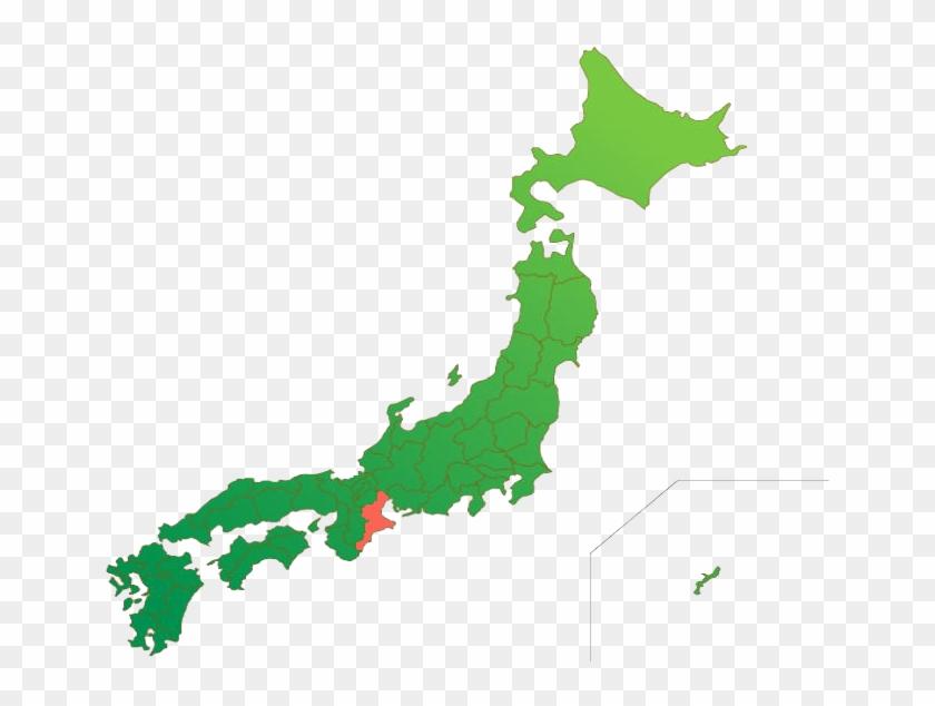 ĸ‰é‡åŽ¿äº§ Japan Map Outline Free Transparent Png Clipart Images Download
