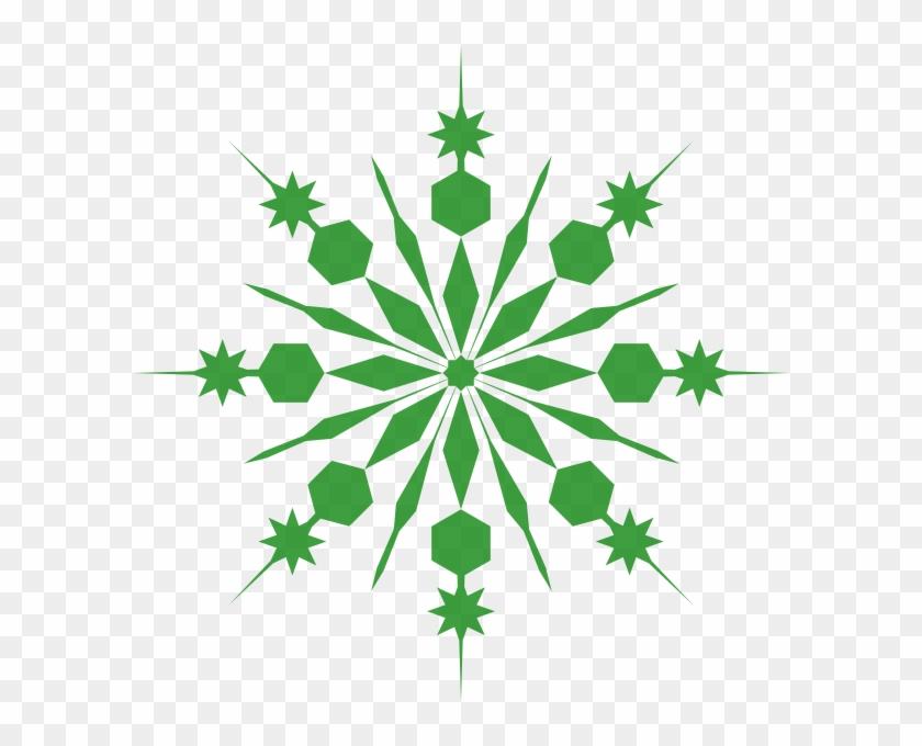 Frozen Snowflakes Clip Art #739457