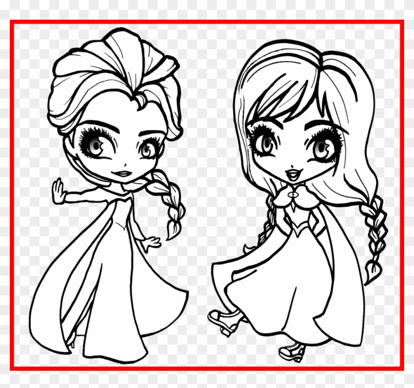 The Best Frozen Elsa Snow Queen Making Snowflakes Coloring - Elsa And Anna Colouring #739599