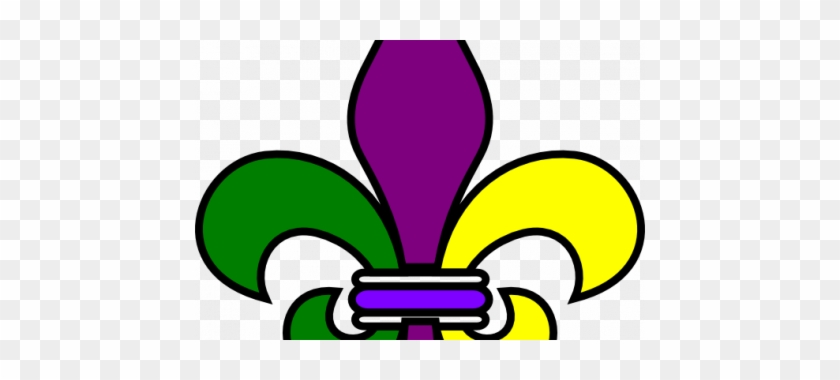 Pin Mardi Gras Clip Art - Fleur De Lis Mardi Gras Clip Art #739719
