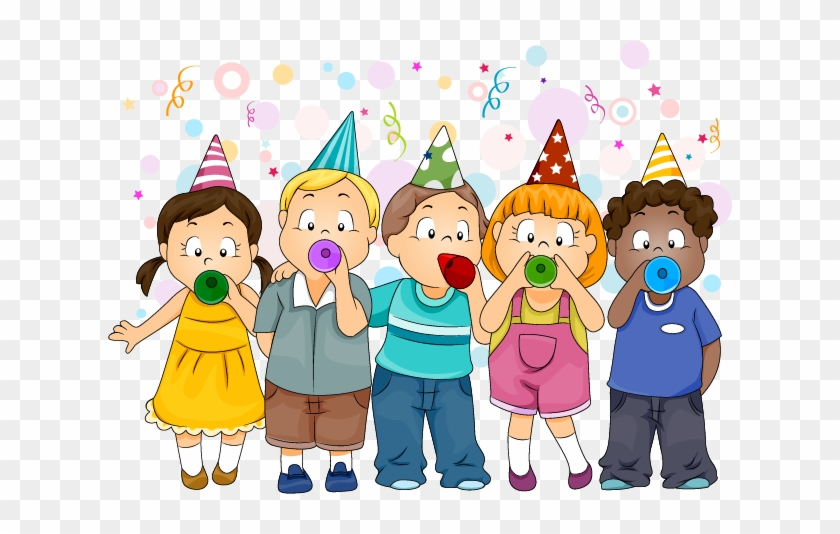 small kiddos package new year celebration cartoon 740187