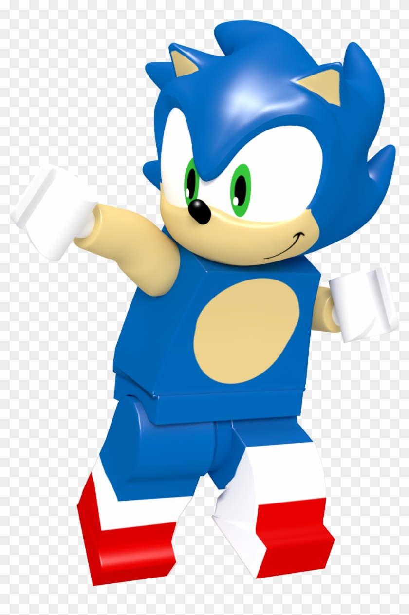 Absolutedream 109 17 Lego Sonic Thanksgiving Render Lego Sonic The Hedgehog Png Free Transparent Png Clipart Images Download