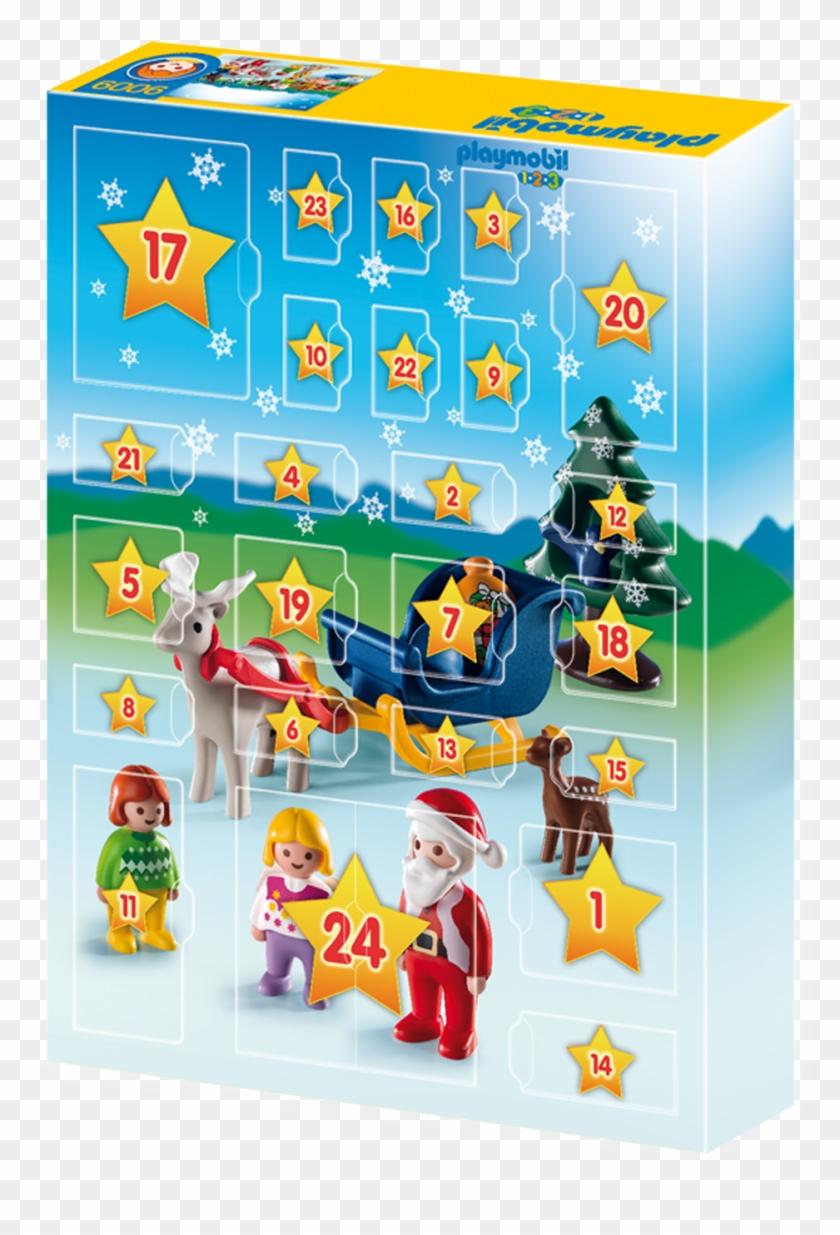 Http - //media - Playmobil - Com/i/playmobil/9009 Product - Christmas On The Farm, Advent Calendar #741996