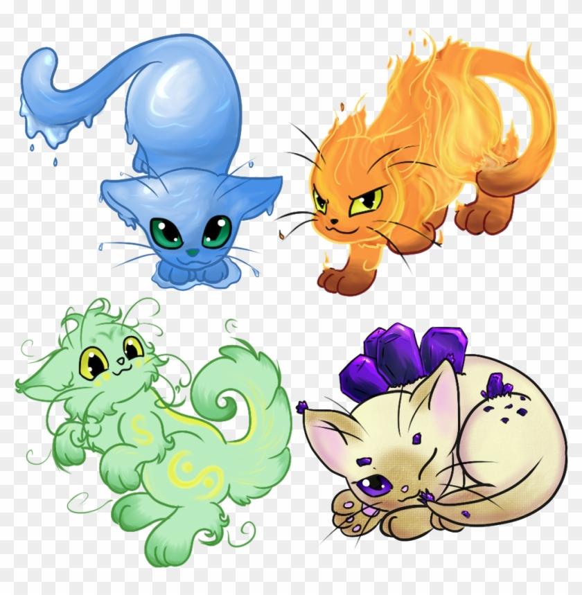 Elemental Cats Auction - Elemental Kitten #742526