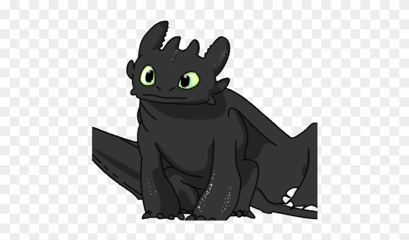 Elegant Toothless Dragon Cartoon Toothless The Dragon - Toothless Dragon Pictures Head #742927