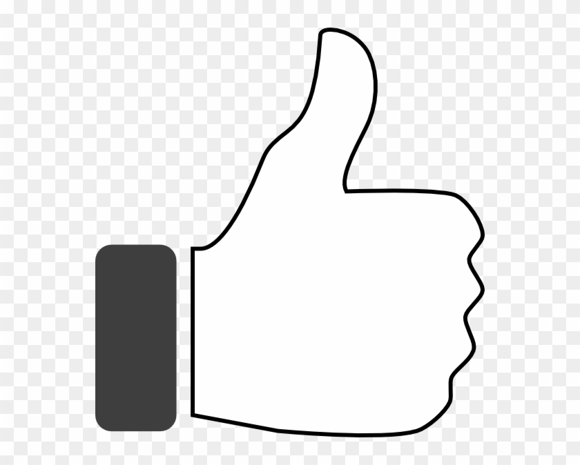 Thumbs Up On Black Free Transparent Png Clipart Images Download