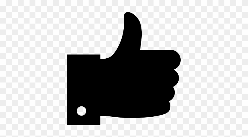 Thumbs Up Icon - Css Svg Animation Thumbs Up - Free Transparent PNG