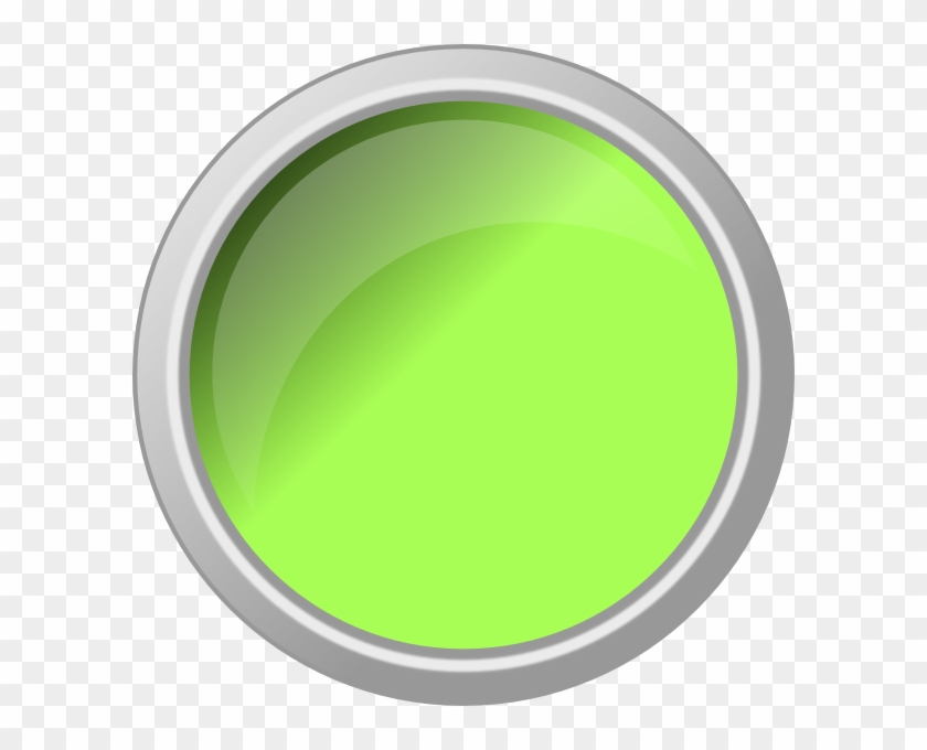 Green Cat Eyes Contacts For Kids - Green Push Button Clip Art #744337