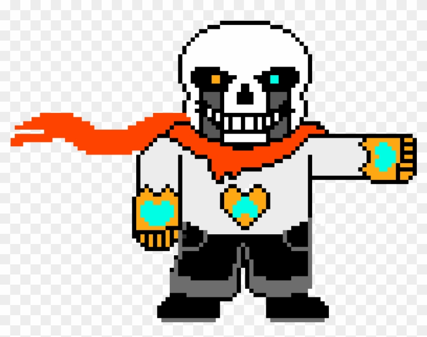 Tale Sans After Papyrus Death - Ultra Tale Sans Pixel Art - Free