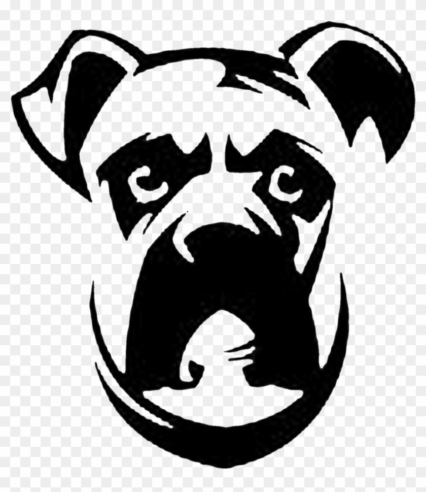 Boxerface Gambar Sketsa Kepala Anjing Free Transparent