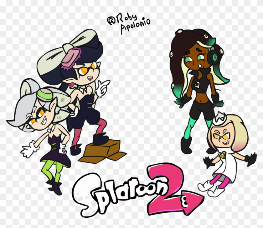 splatoon 2 squid sisters and off the hook by robyapolonio splatoon 2 squid sisters free transparent png clipart images download robyapolonio splatoon 2 squid sisters