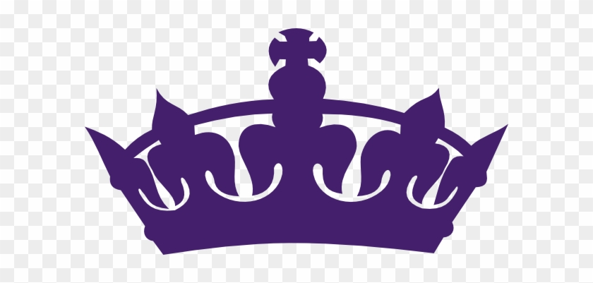 Keep Calm Crown Purple #744862