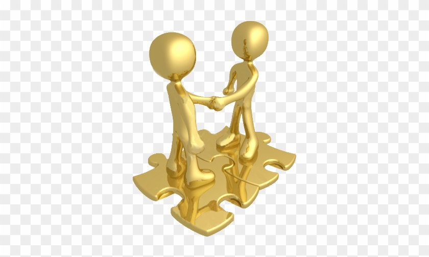 We Look After Your People, When They Are No Longer - Two People Shaking Hands #745226