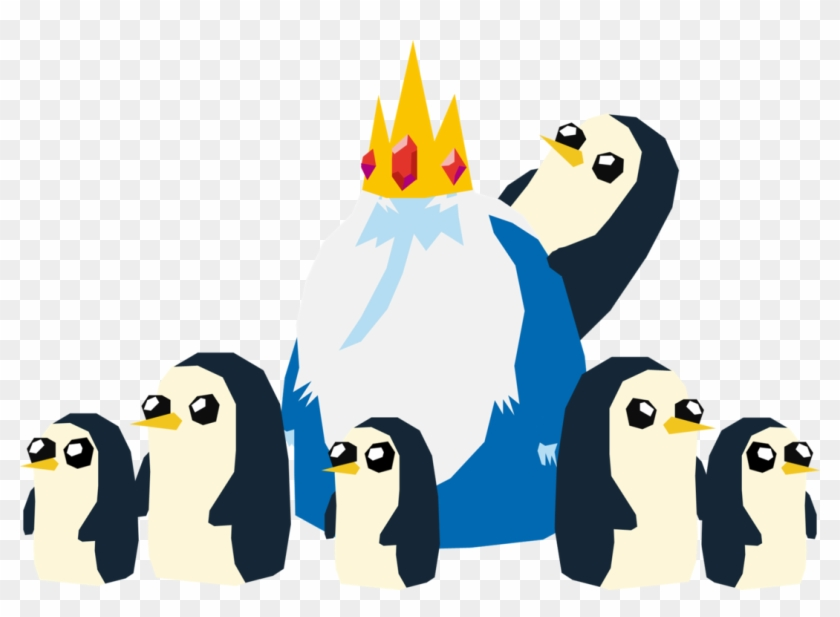 The Ice King's Penguins By Samueljellis - Ice King And Penguins #745275