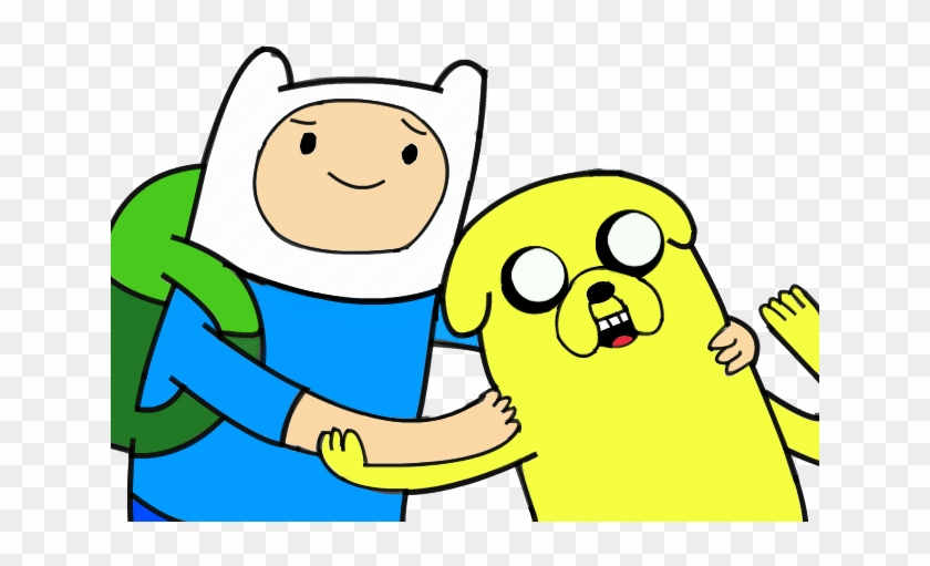 Finn And Jake - Adventure Time Jake And Finn Png #745293