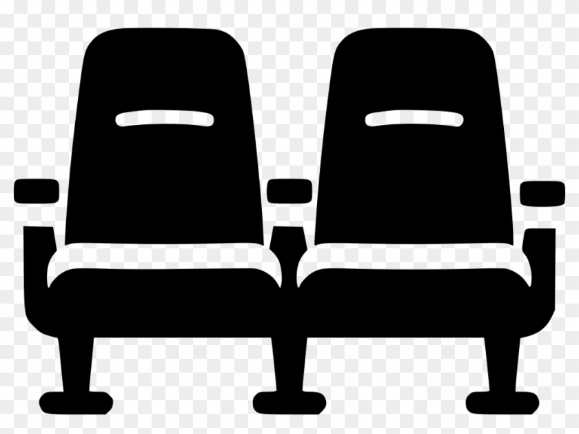 Chair Cinema Theater Seat Comments Theater Seats Icon Png Free Transparent Png Clipart Images Download