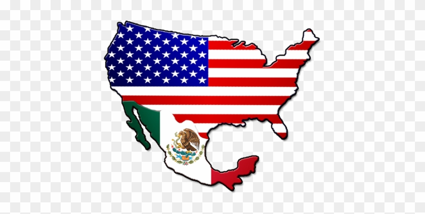 10 Images Of Map Usa Y Mexico - Coat Of Arms Of Mexico