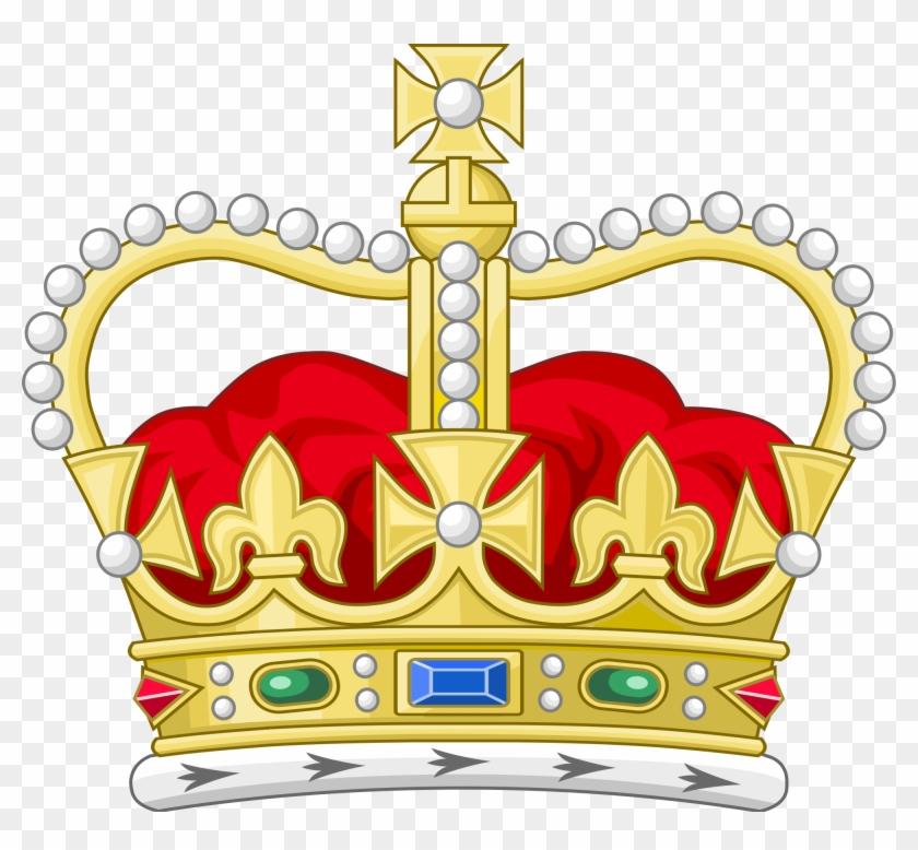Monarchy Crown Clipart - Queen Elizabeth Crown Vector #746264