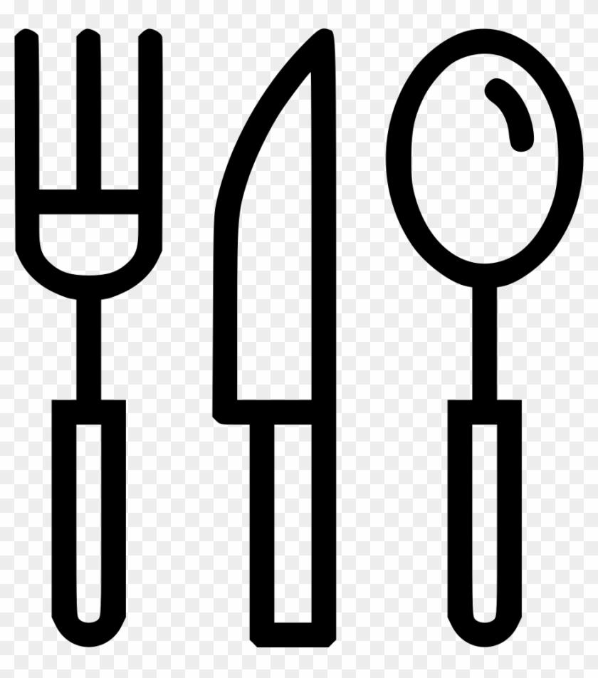 Cutlery Tableware Knife Fork Spoon Eat Food Comments - Kitchen Utensil #746599