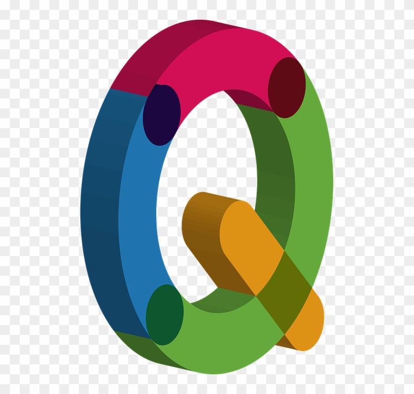 3d Number 10 Cliparts 7, - Colorful Alphabet 3d Letter #746663