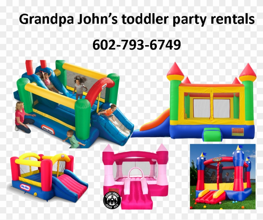 Phoenix Az Inflatable Toddler Bounce House Rentals - Little Tikes Double Jump N Slide Bouncer #746797