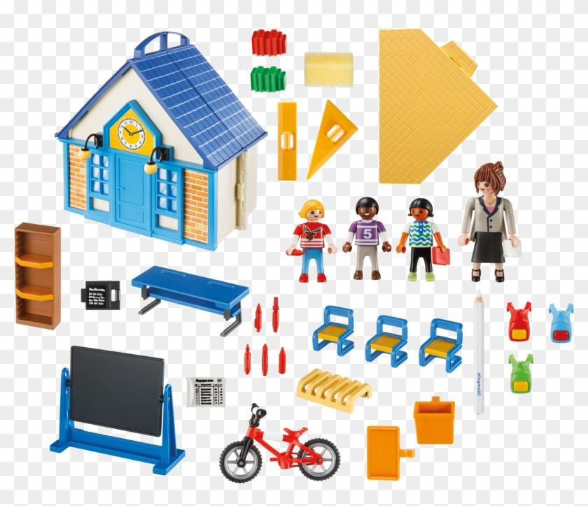 Http - //media - Playmobil - Com/i/playmobil/5662 Product - Playmobil - Take Along School House #746835