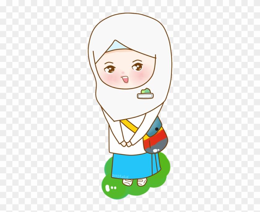 Freebies Back To School Kartun Anak Sd Berangkat Sekolah Free Transparent Png Clipart Images Download