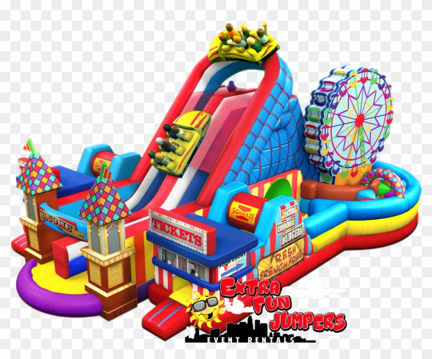 Extra Fun Jumpers & Event Rentals Inflatable Party - Cool Jumpers For Rent #747076