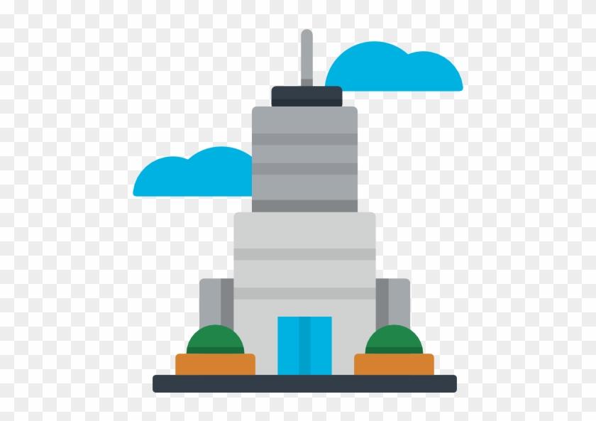 Skyscraper Free Icon - Building #747519