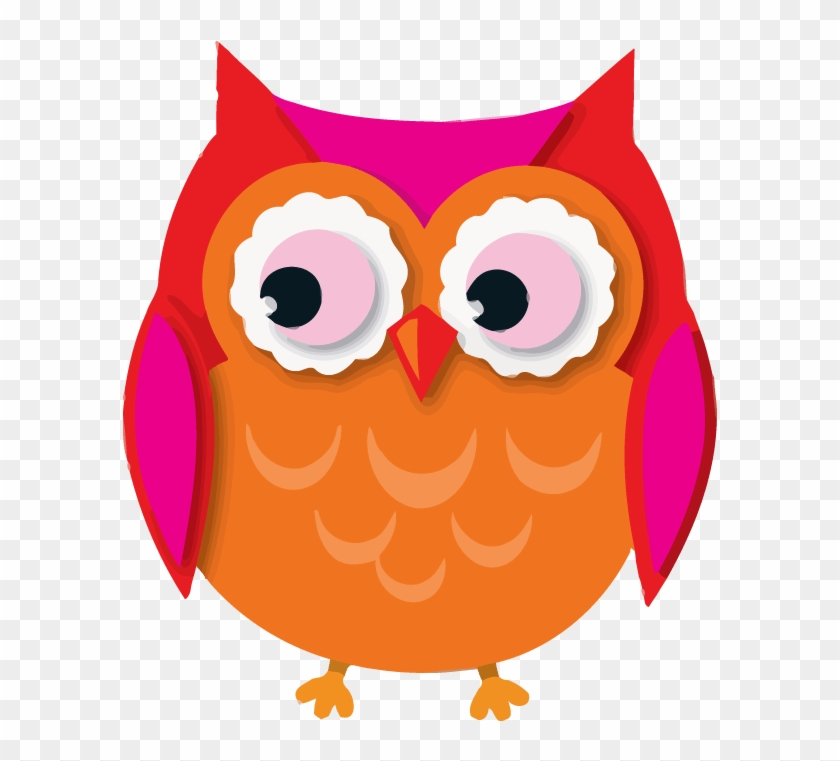 Owl Cartoon Clip Art Colorful Owls Cut Outs By Carson Dellosa