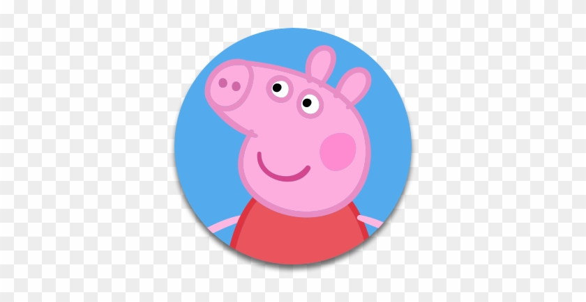 Desenhos Da Peppa Pig Colorido - Face Peppa Pig Png #747902