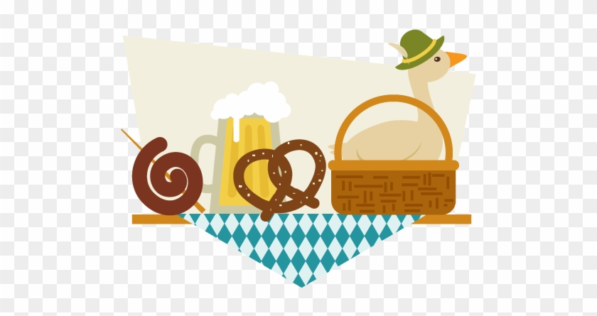 How To Create A Still Life Illustration Of German Food - Create Food In Illustrator #748673