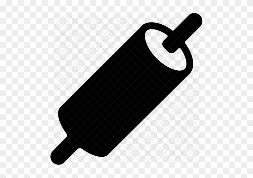 Rolling Pin Icon - Kitchen Tool Png #748710