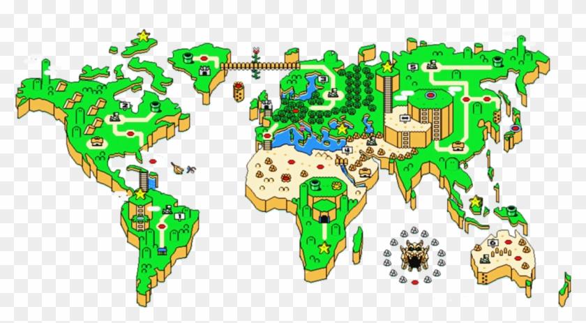Mario World Map Icon By Slamiticon On Deviantart