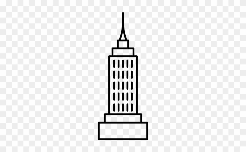 Flat, Simple, Building Icon - Skyscraper #749637