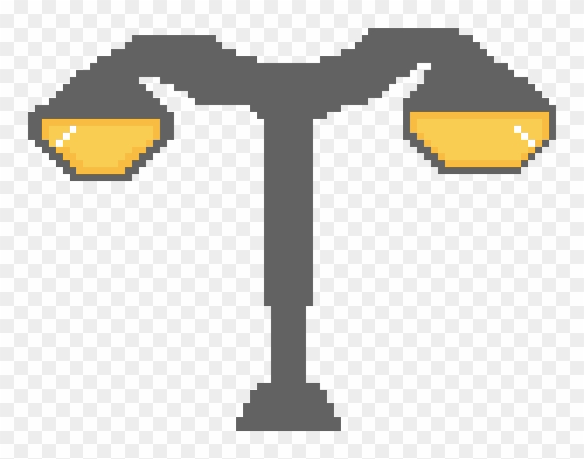 Street Lamp - Pixel Art Street Lamp #750456