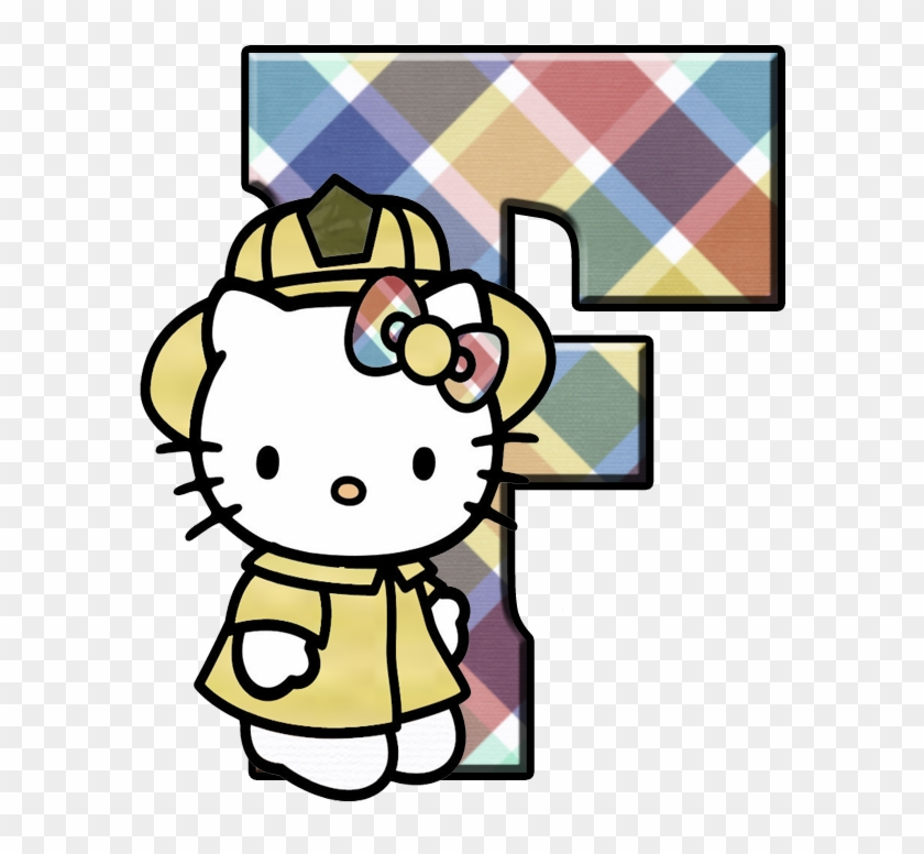 F Hello Kitty Birthday Card Free Transparent Png Clipart