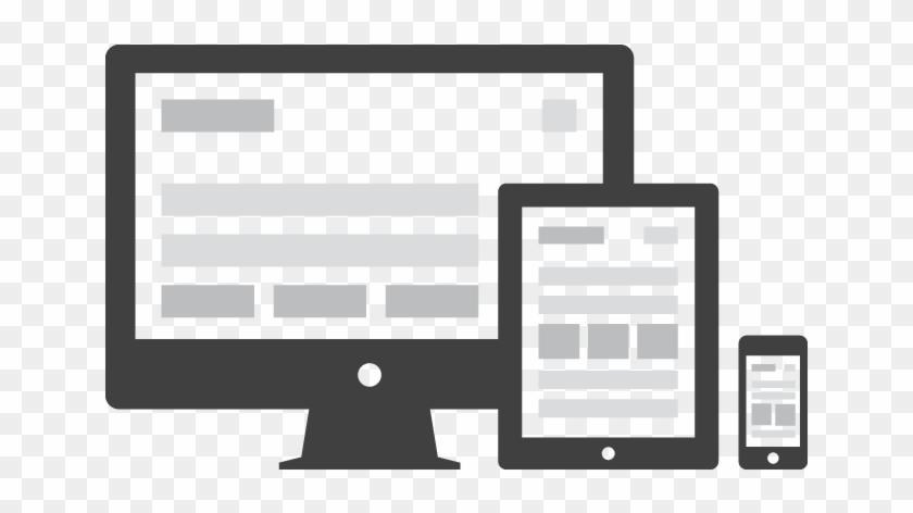 Web Design And Web Development - Responsive Web Design Icon Vector #751095