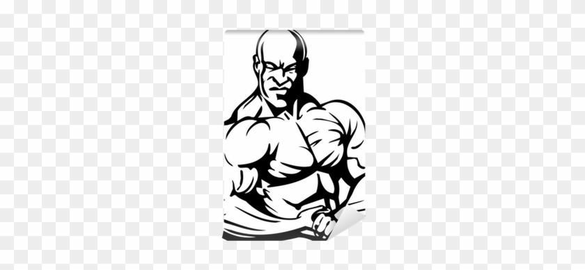 Bodybuilding And Powerlifting - Dibujo De Levanta Pesas #751223