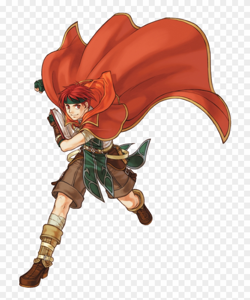 Red mage anime red hair red eyes boy guy red mage anime red hair red