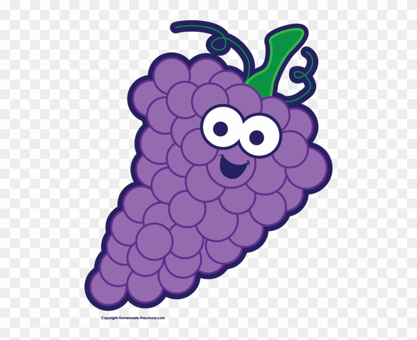 Grapes Free Fruit Clipart Grapes With Name Clipart Free