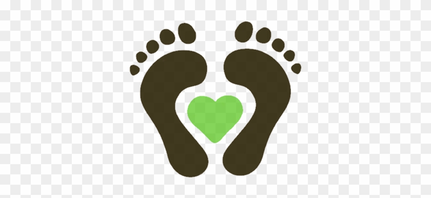 Footprint Clipart Foot Care Baby Feet In Heart Clip Art Free Transparent Png Clipart Images Download