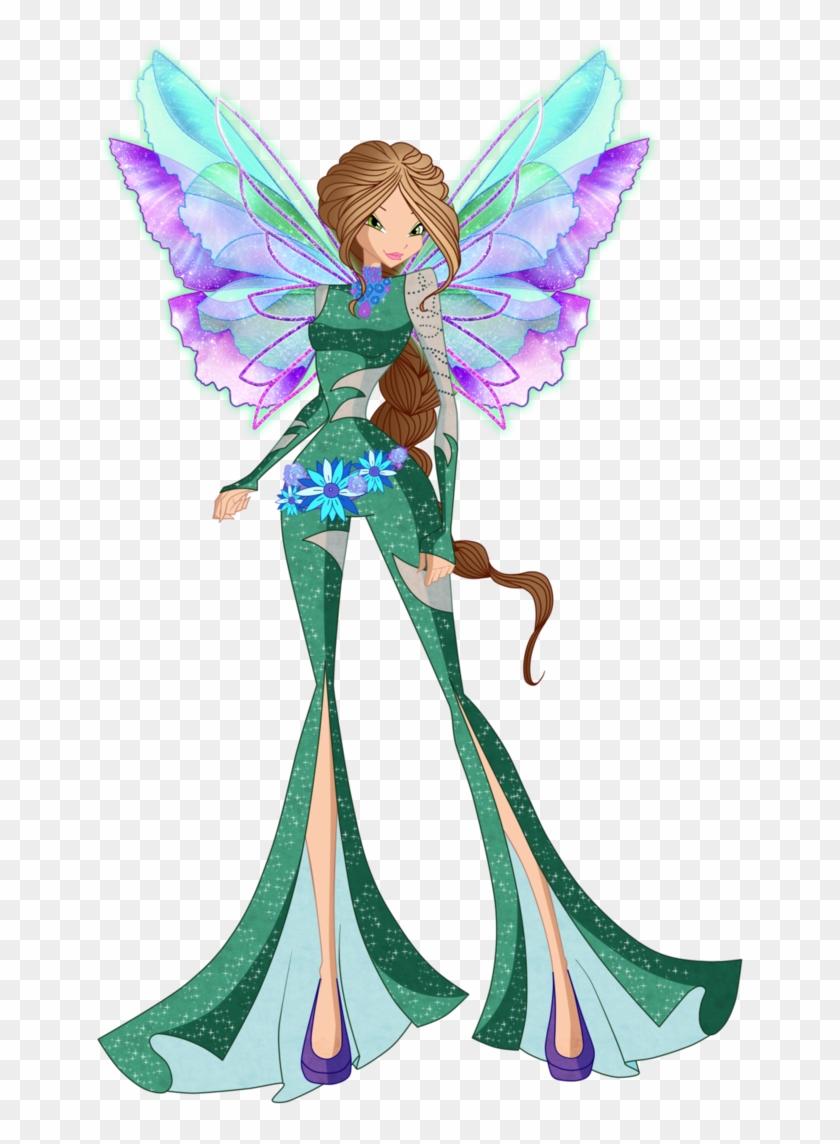 Flora Onirix 2d By Winx Rainbow Love - World Of Winx Orinix