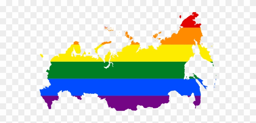 New Russian Law Makes Publication Of Information On - Gay Pride Flag Russia #755009